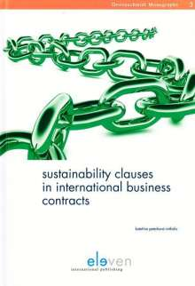 Katerina Peterkova Mitkidis: Sustainability Clauses in International Business Contracts, Buch
