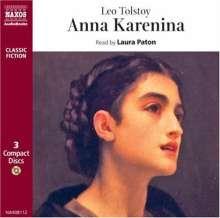 Anna Karenina, 4 CDs