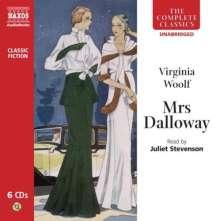 Juliet Stevenson: Virginia Woolf: Mrs Dalloway, 6 CDs