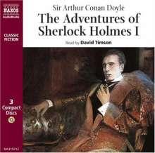 Conan Doyle,Sir Arthur:Sherlock Holmes I (in engl.Spr.), 3 CDs