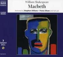 Shakespeare,William:Macbeth (in engl.Spr.), 3 CDs