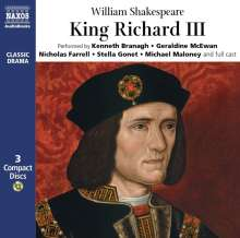 King Richard III, 3 CDs