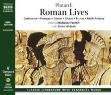 Plutarch: Roman Lives, 6 CDs