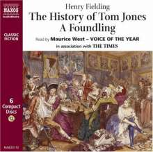 Fielding,Henry:The History of Tom Jones A Foundling, 6 CDs
