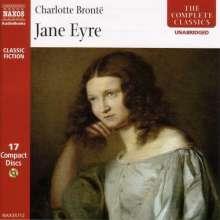 Bronte,Charlotte:Jane Eyre (in engl.Spr.), 17 CDs
