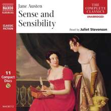 Austen,Jane:Sense and Sensibility (in engl.Spr.), 11 CDs