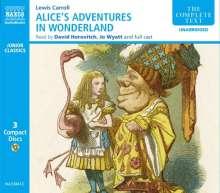 Alice in Wonderland, 3 CDs