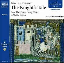 Chaucer,Goffrey:The Knyghtes Tale, 2 CDs