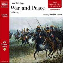 War and Peace, 25 CDs