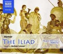 Homer:The Iliad (in engl.Spr.), 4 CDs
