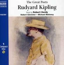 The Great Poets - Rudyard Kipling, CD