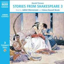 Stories from Shakespeare 3, 3 CDs