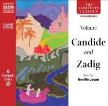 Voltaire: Candide and Zadig, CD