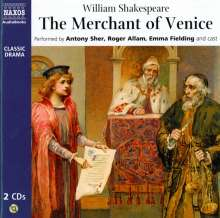 William Shakespeare: The Merchant of Venice, 2 CDs