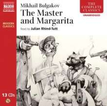 Julian Rhind-Tutt: Mikhail Bulgakov: The Master And The Margarita, 13 CDs