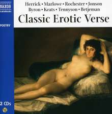 Lord George Gordon Byron: Classic Erotic Verse, CD