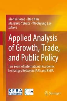 Applied Analysis of Growth, Trade, and Public Policy, Buch
