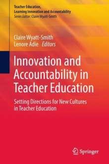 Innovation and Accountability in Teacher Education, Buch