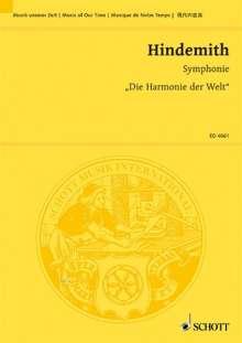 """Paul Hindemith: Symphonie """"Die Harmonie der Welt"""" (1951), Noten"""