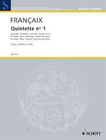 Jean Francaix: Quintette, Noten