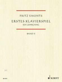 Fritz Emonts: Erstes Klavierspiel (1958), Noten