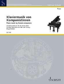 Frauen komponieren - 22 Klavierstücke, Noten