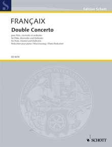 Jean Francaix: Double Concerto (1991), Noten