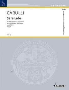 Ferdinando Carulli: Serenade op. 109/1, Noten