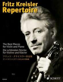 Fritz Kreisler: Fritz Kreisler Repertoire, Noten