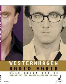 Marius Müller-Westernhagen: Radio Maria, Noten