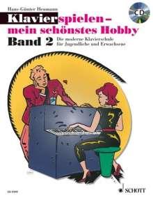 Hans-Günter Heumann: Klavierspielen - mein schönstes Hobby (Band 2 + CD), Noten