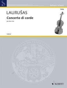 Vytautas Laurusas: Concento di corde (1999-2002), Noten
