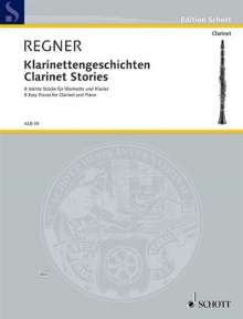 Hermann Regner: Klarinettengeschichten, Noten