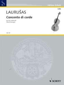 Vytautas Laurusas: Concento di corde (2002-2004), Noten