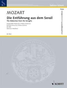 Wolfgang Amadeus Mozart (1756-1791): Die Entführung aus dem Serail KV 384, Noten