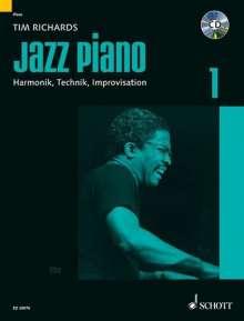 Tim Richards: Jazz Piano, Noten