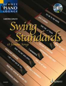 Schott Piano Lounge - Swing Standards (mit CD), Noten