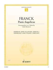 Cesar Franck: Panis Angelicus A-Dur, Noten