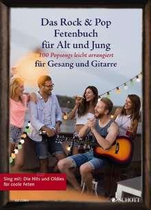 Das Rock & Pop Fetenbuch für Alt und Jung, Noten