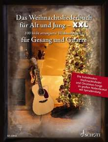 Das Weihnachtsliederbuch für Alt und Jung - XXL, Noten