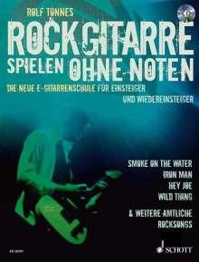 Rolf Tönnes: Rockgitarre spielen ohne Noten, Noten
