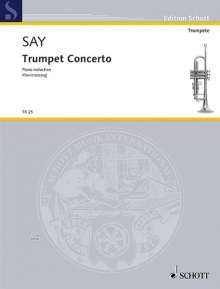 Faz?l Say: Trumpet Concerto op. 31 (2010), Noten