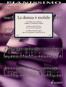 La donna è mobile, Noten