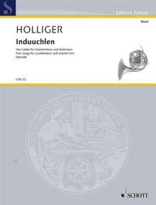 Heinz Holliger: Induuchlen (2004), Noten