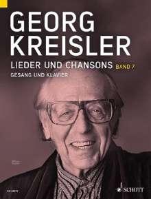 Georg Kreisler: Lieder und Chansons, Noten