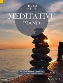 Relax with Meditative Piano, Noten