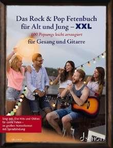Das Rock & Pop Fetenbuch für Alt und Jung XXL, Noten