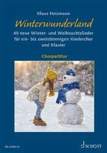 Klaus Heizmann: Winterwunderland, Noten