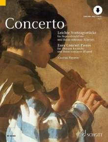Concerto, Noten