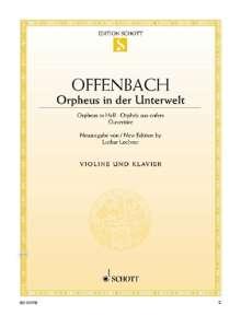 Jacques Offenbach: Orpheus in der Unterwelt, Noten